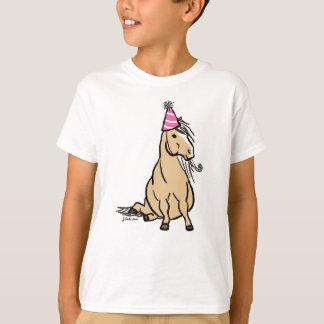 Poney de partie de palomino t-shirt