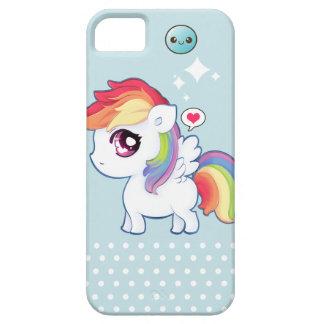 Poney mignon d arc-en-ciel de Kawaii Coque iPhone 5 Case-Mate