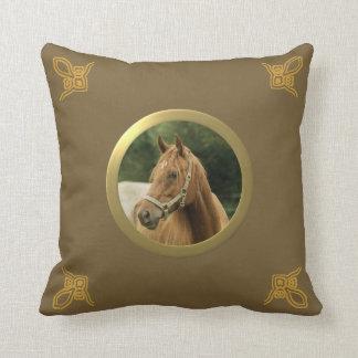 Poney personnalisable, cheval ou toute autre photo coussin