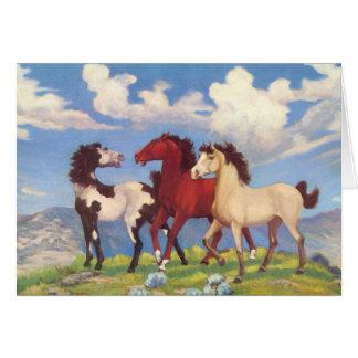Poneys de vache occidentaux cartes