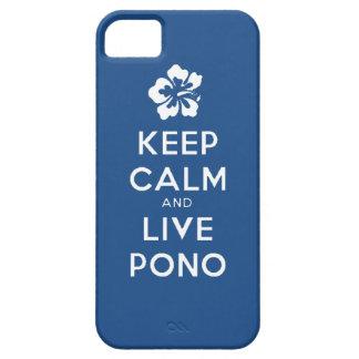 Pono calme et vivant de séjour étuis iPhone 5