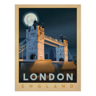 Pont | Angleterre de Londres Carte Postale