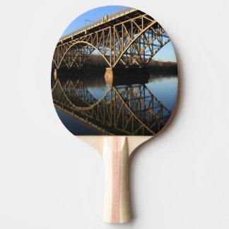 Pont au-dessus de rivière de Schuylkill Raquette Tennis De Table