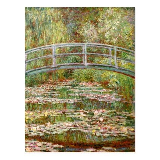 Pont au-dessus d'un étang des nénuphars, Claude Cartes Postales