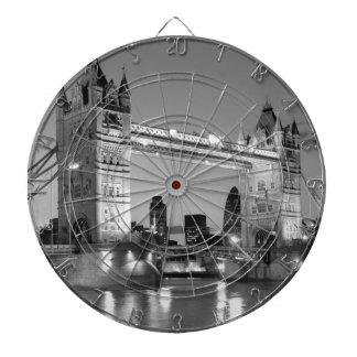 Pont blanc noir de tour de Londres Jeux De Fléchettes