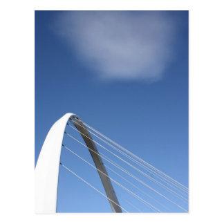 Pont carte postale de Newcastle, Angleterre de