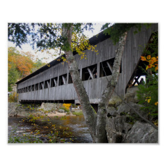 Pont couvert 7692 poster