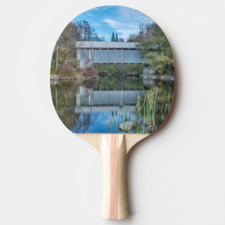 Pont couvert de Milby Raquette Tennis De Table