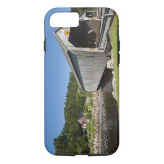 Pont couvert de rivière irlandaise, St Martins, Coque iPhone 7