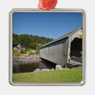 Pont couvert de rivière irlandaise, St Martins, Ornement Carré Argenté