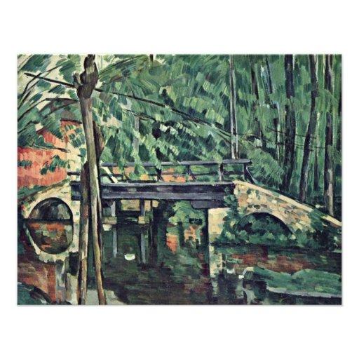 """Pont dans les bois (Â """"Le Petit Pont"""" """") """" Invitations Personnalisées"""