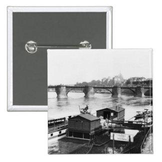 Pont d'Augustus, Dresde, c.1910 Badge