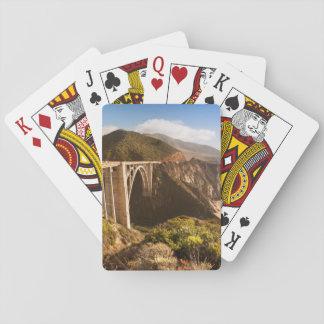Pont de Bixby, grand Sur, la Californie, Etats-Uni Cartes À Jouer