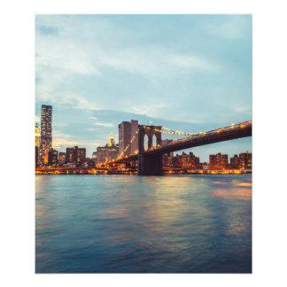 Pont de Brooklyn Impressions Photo