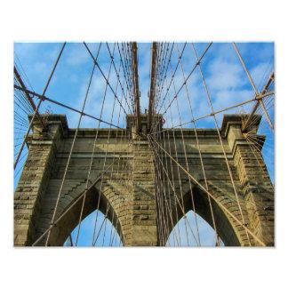 Pont de Brooklyn, New York City - copie de photo