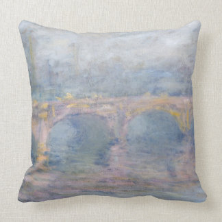 Pont de Claude Monet | Waterloo, Londres, au Coussin
