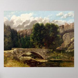 Pont de Fleurie, Suisse, 1873 Posters
