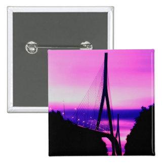 Pont de la Normandie, le Havre, France 2 Badge