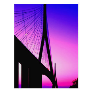 Pont de la Normandie, le Havre, France Carte Postale