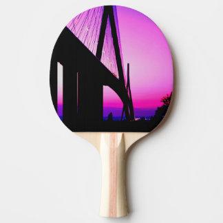 Pont de la Normandie, le Havre, France Raquette Tennis De Table