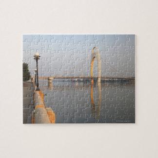 Pont de Liede au-dessus de Pearl River Puzzle