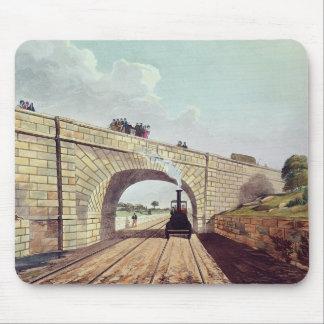 Pont, de 'Liverpool et de Manchester Railway Tapis De Souris