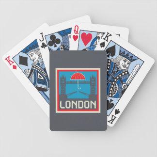 Pont de Londres avec le parapluie Jeu De Cartes