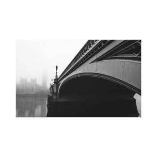 Pont de Londres Westminster dans la toile de