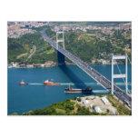 Pont de Mehmet de sultan de Fatih au-dessus du Bos Carte Postale