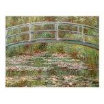"""Pont de Monet le """"au-dessus d'un étang des nénupha Cartes Postales"""