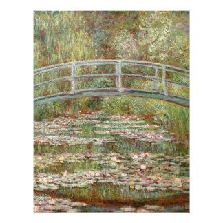 """Pont de Monet le """"au-dessus d'un étang des nénupha Prospectus 21,6 Cm X 24,94 Cm"""
