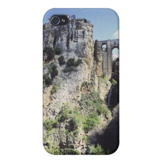 Pont de Puente Nuevo en Espagne Étuis iPhone 4