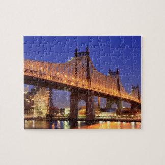 Pont de Queensboro et l'East River Puzzle
