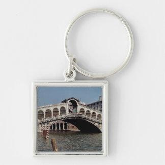 Pont de Rialto, commencé 1588 Porte-clé Carré Argenté
