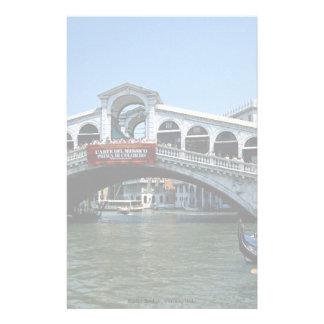 Pont de Rialto, Venise, Italie Motifs Pour Papier À Lettre