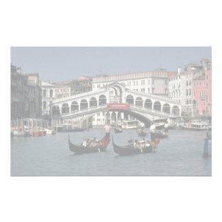 Pont de Rialto, Venise Papier À Lettre Personnalisé