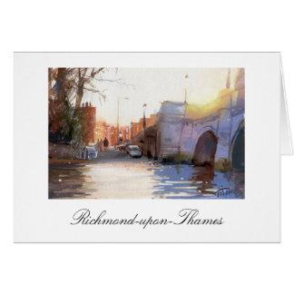 Pont de Richmond, la Richmond-sur-Tamise Cartes De Vœux