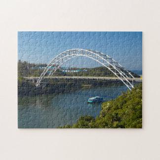 Pont de rivière de Mtamvuna, Kwazulu Natal Puzzle