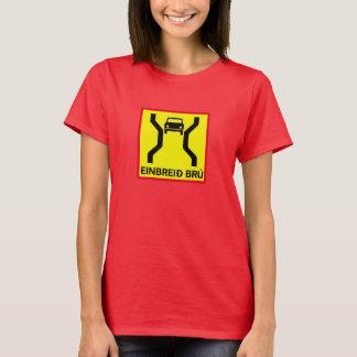 Pont de Simple-Largeur, poteau de signalisation, T-shirt