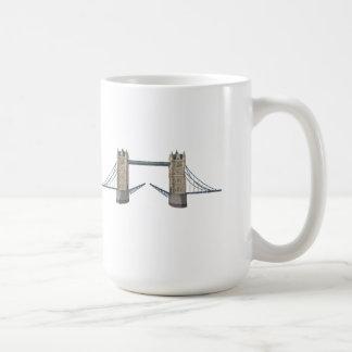 Pont de tour de Londres : modèle 3D : Mug
