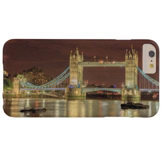 Pont de tour la nuit, Londres Coque Barely There iPhone 6 Plus