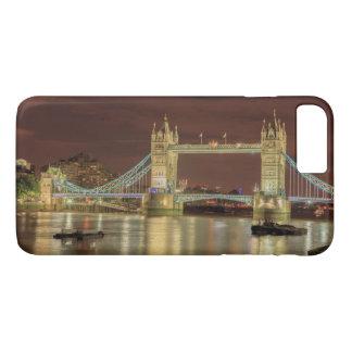 Pont de tour la nuit, Londres Coque iPhone 7 Plus