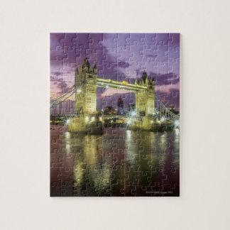 Pont de tour la nuit puzzle