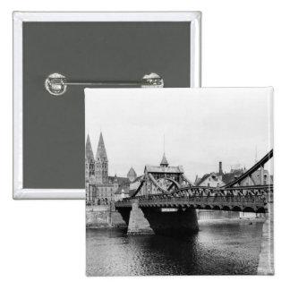 Pont de Weser, Brême, c.1910 Pin's