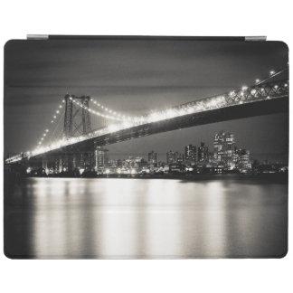 Pont de Williamsburg à New York City la nuit Protection iPad