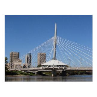 Pont de Winnipeg Provencher Carte Postale