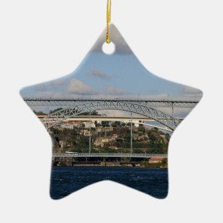 Pont des DOM Luis I, Porto, Portugal Ornement Étoile En Céramique