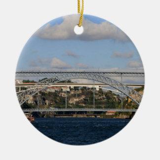 Pont des DOM Luis I, Porto, Portugal Ornement Rond En Céramique
