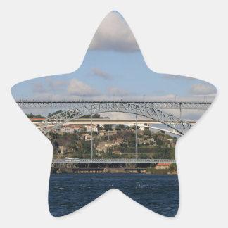 Pont des DOM Luis I, Porto, Portugal Sticker Étoile