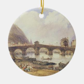 Pont des voûtes, Liège Ornement Rond En Céramique